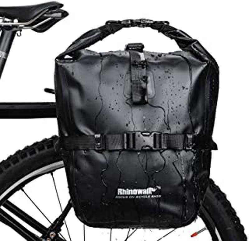 ᐅ Les meilleurs sacs pour porte-bagages de vélo en 2021 !