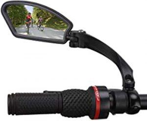 Miroirs De V/élo,1PC V/élo Vue Arri/ère Miroirs Bike R/étroviseur R/éflecteur V/élo Scooter r/étroviseur pour V/élo De Route De Montagne